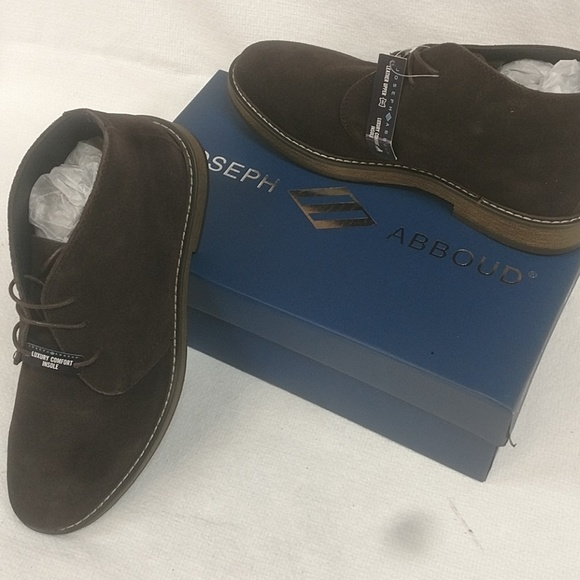 67466d267cde08 Joseph Abboud Shoes | Mens Brown Suede Chukka Boots Cb19 | Poshmark